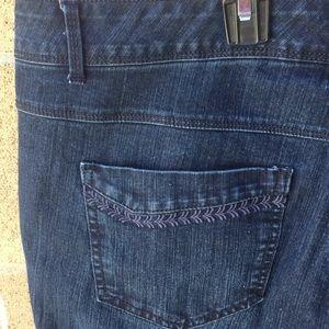 Gloria Vanderbilt Jeans - Gloria Vandelbilt Skimmer  Marnie Capri jeans 16W